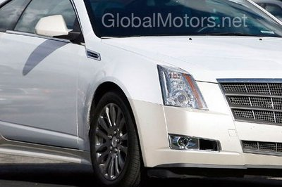 2011 Cadillac CTS Coupe spy shot