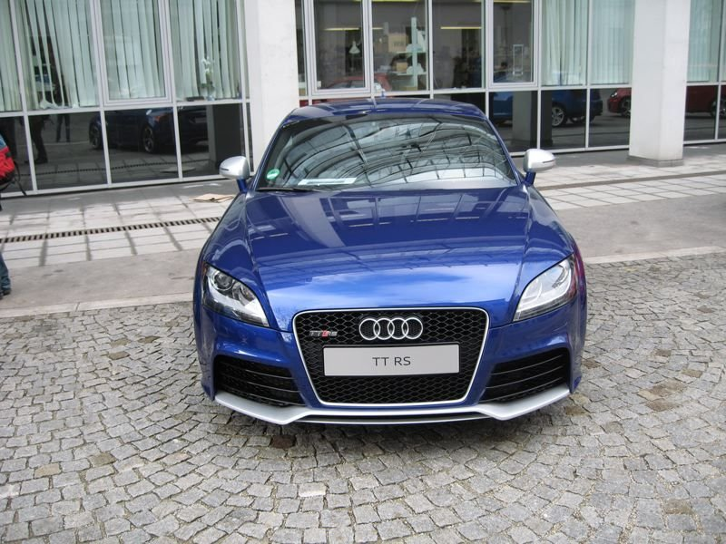 Audi TT-RS - real life photos