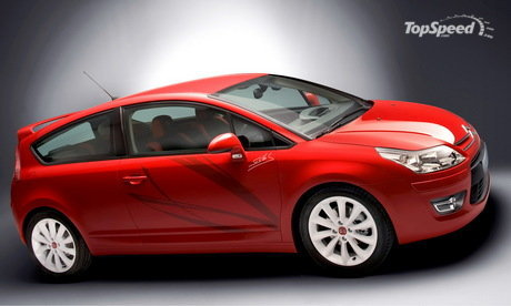 Citroen has unveiled the special edition C4 Coupe by Sebastien Loeb.