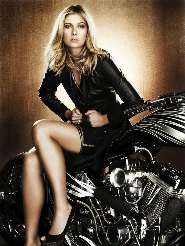 does maria sharapova have a passion for choppers picture