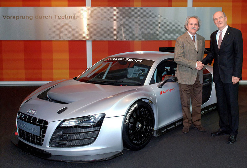First Audi R8 LMS delivered