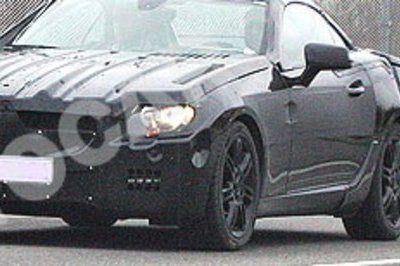 Mercedes SLK spy shot