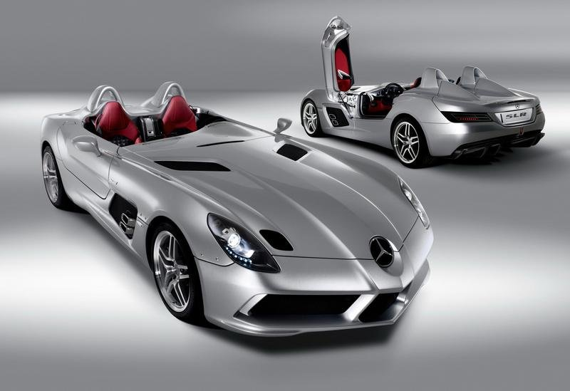 Mercedes SLR Stirling Moss - new image gallery