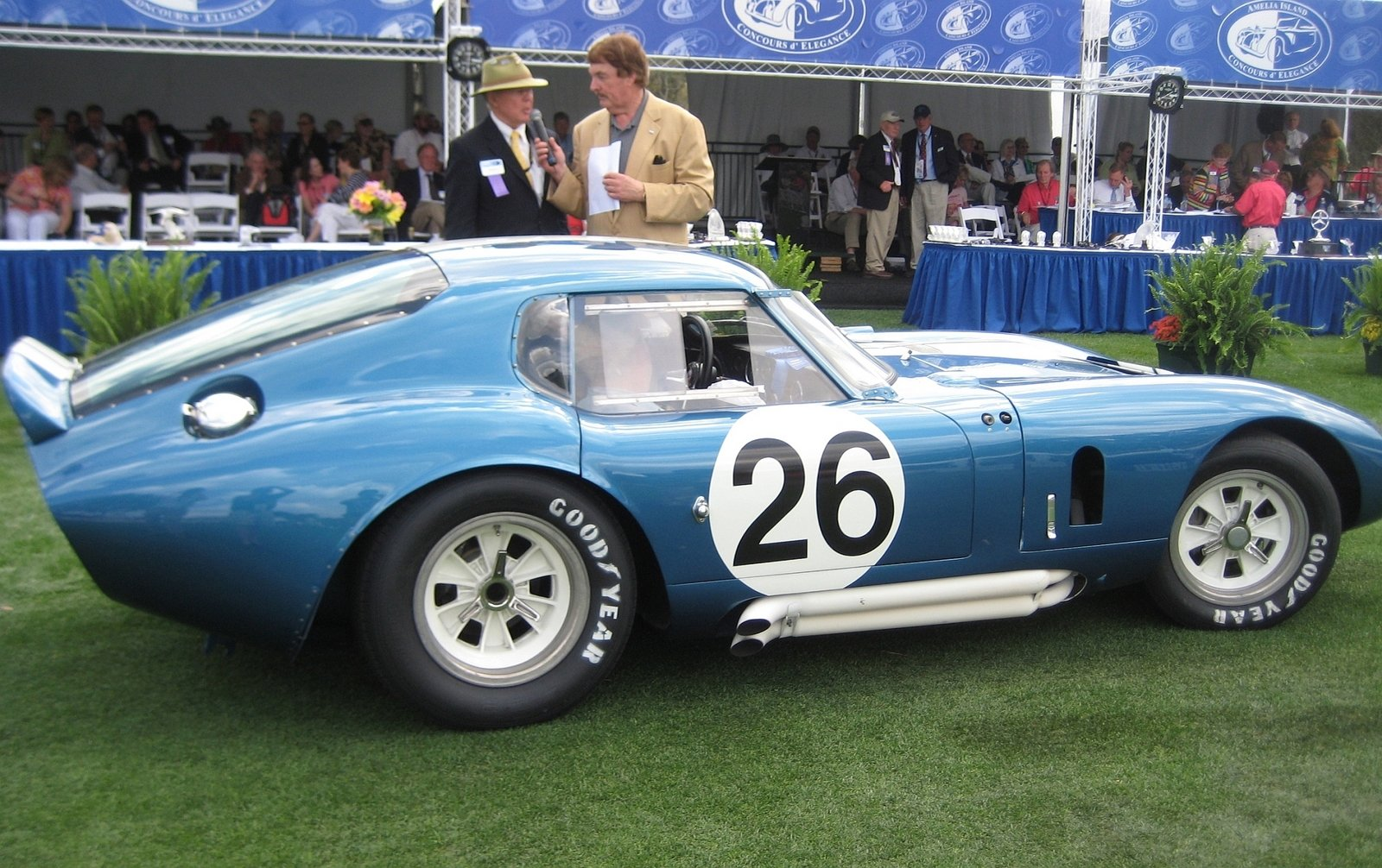 Concours D Elegance >> Shelby Daytona Coupe Auction Car Wins At Amelia Island ...