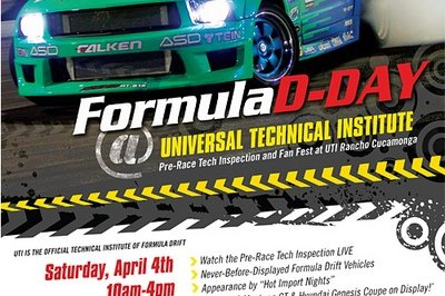 UTI: The Official Technical School of Formula D