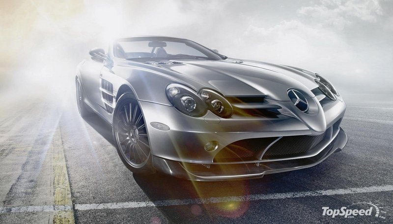Video: Stirling Moss driving the SLR 722