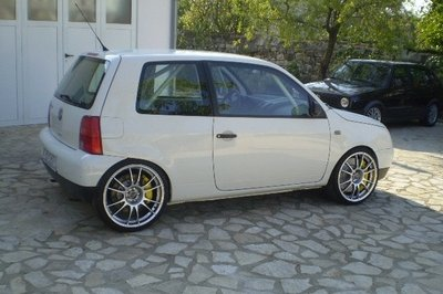 Twin engine VW Lupo