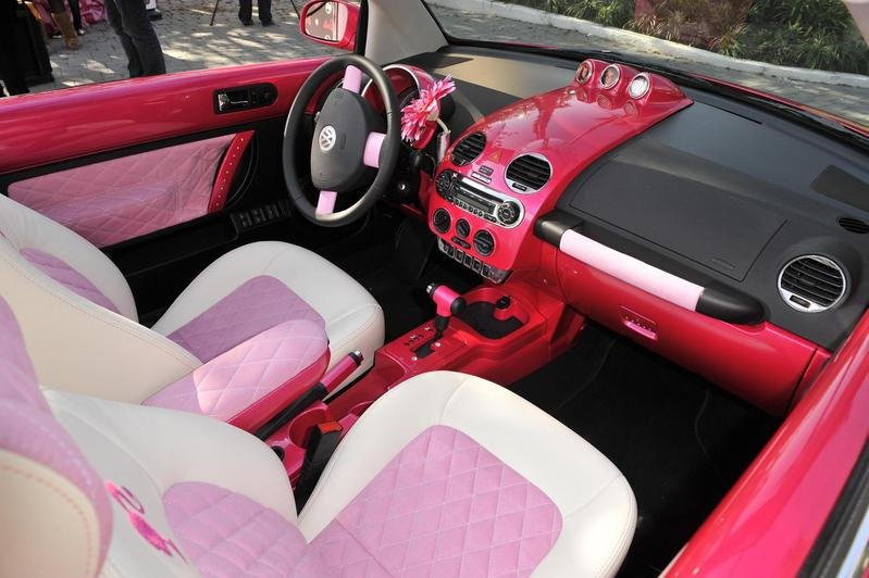 2010 Volkswagen Beetle Convertible Barbie Edition