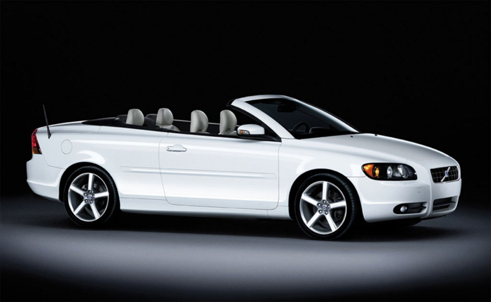 2009 Volvo C70 Ice White Review - Top Speed