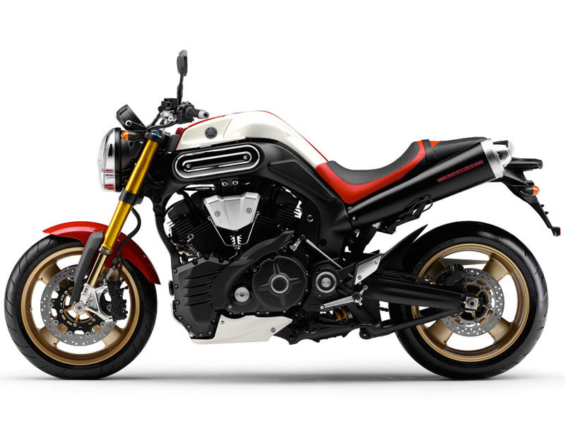 2009 Yamaha MT-01 SP belongs to the European market