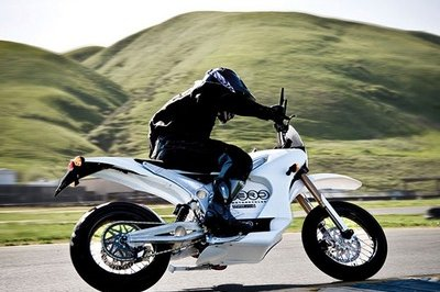 2009 Zero S, world's first road legal electric supermoto