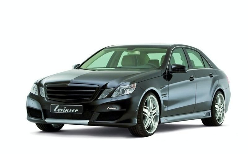 2010 Mercedes-Benz E-Class by Lorinser: real life photos