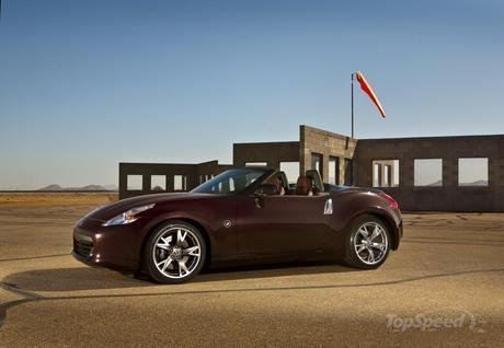 2010 Nissan 370Z Roadster Collection Pics