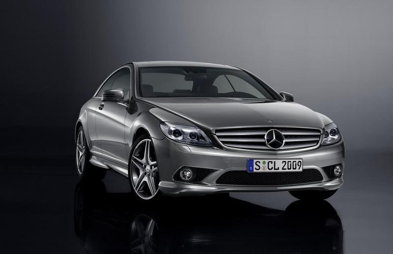 AMG Sports package for the 2009 S-Class and the CL-Class