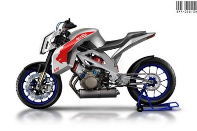 Aprilia 5.5 Street by Luca Bar