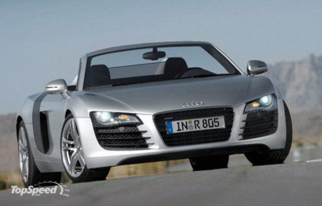Charming 2010 Audi R8 Convertible Picture