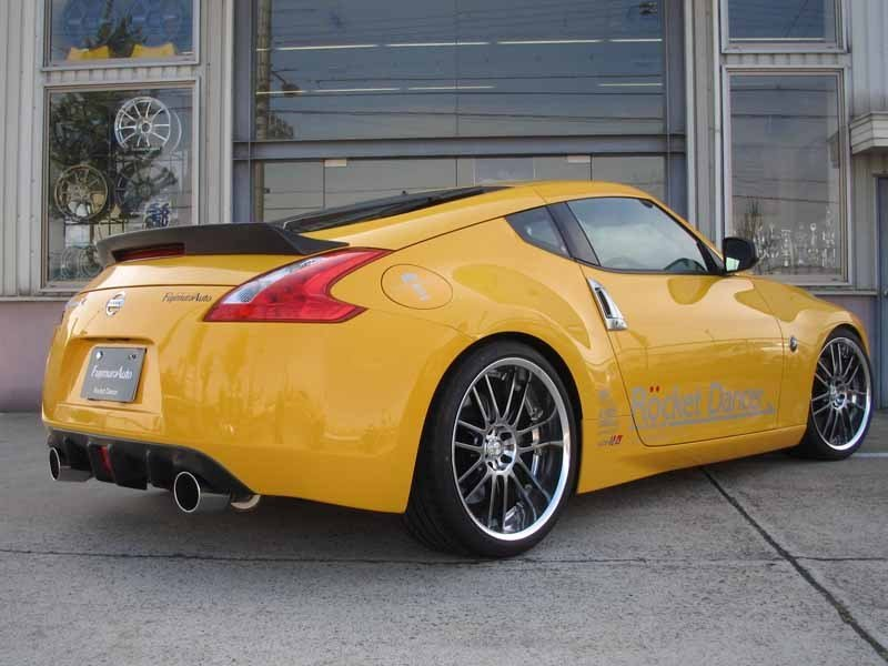 Fujimara Auto presents aero pack for Nissan 370Z