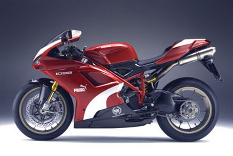 Japan gets Ducati 1098R Puma Limited Edition