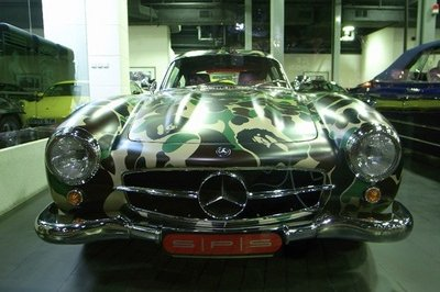 Mercedes Benz AMG 300SL for Nigo