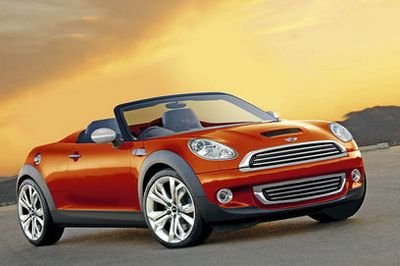 Mini Speedster rendering