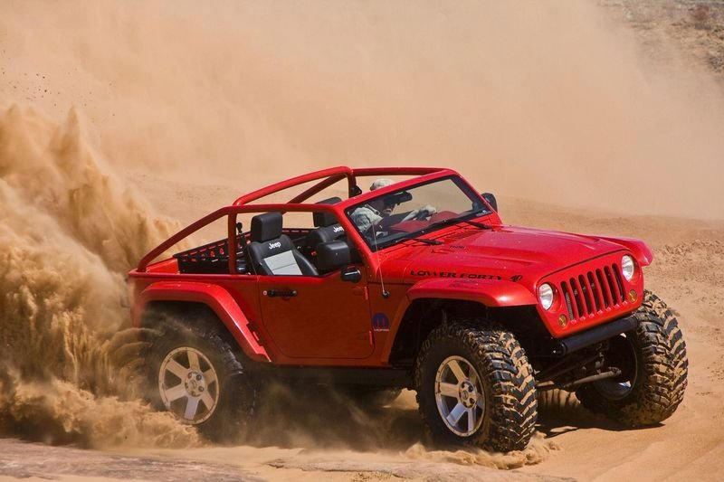 Mopar Underground bring six customized vehicles to the 2009 Moab Jeep Safari