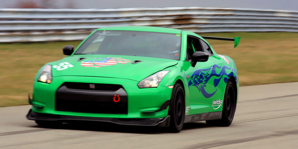 freedom autosport gt-r tuned by switzer performance laps the u.s. picture