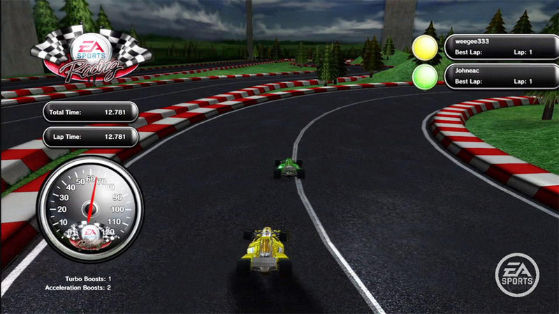 Playstation Home receives new car racing game