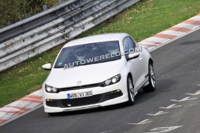 VW Scirocco will get a R20T version