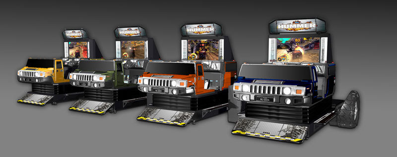 SEGA releases new arcade simulators based on Hummer