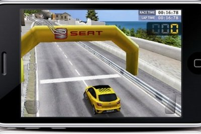 Seat Ibiza Cupra for iPhone and iPod Touch