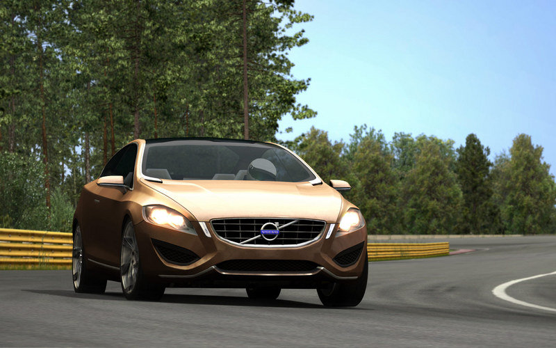 Volvo-The Game: free racing game featuring the S60 Concept