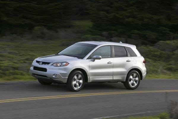 2009 Acura RDX   car review @ Top Speed