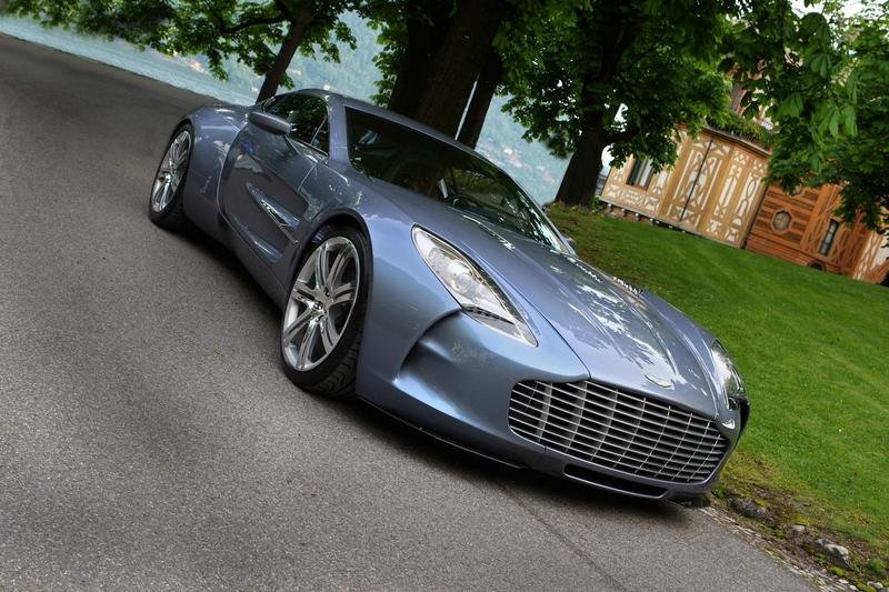 2012 Aston Martin One-77 High Resolution Exterior - image 398296