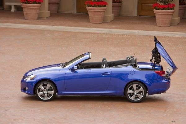 2010 Lexus Is250 And Is350 Convertible Car Review Top