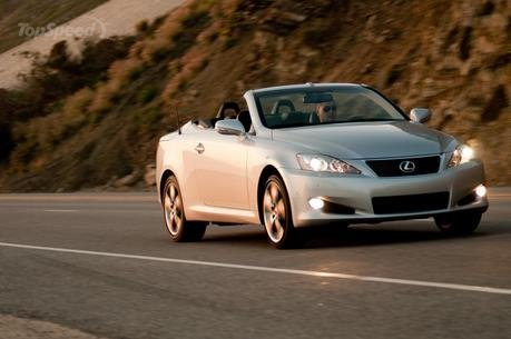 2010 Lexus IS250 and IS350