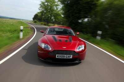 Aston Martin is looking for friends on Facebook for the 2010 V12 Vantage