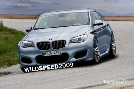 bmw m5. 2012 mw m5 rendering picture