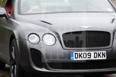 Bentley Supersports Biofuel spy shots