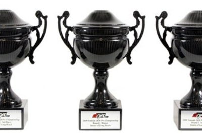 Formula D is giving away carbon fiber trophies