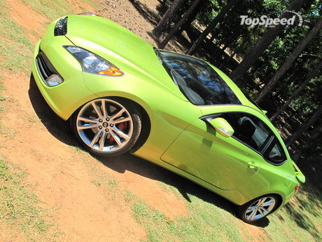 Hyundai Genesis Coupe 3.8 V6 track package first impression