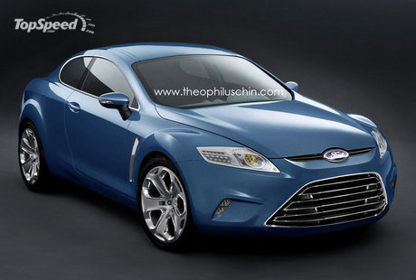 If Ford brings back the Capri, this could be it!
