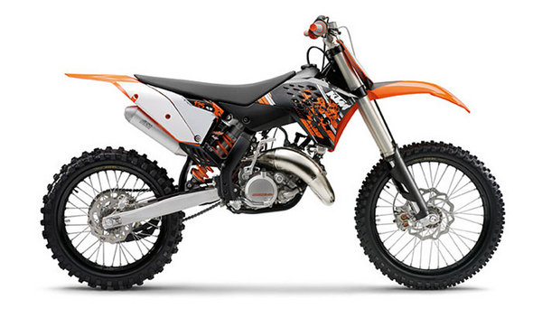 2009 ktm 125 sx motorcycle review top speed. Black Bedroom Furniture Sets. Home Design Ideas