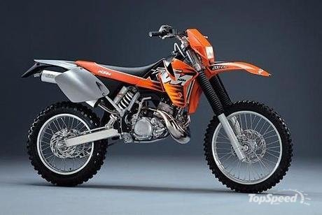 2000 KTM 200 EXC with Accessories Images