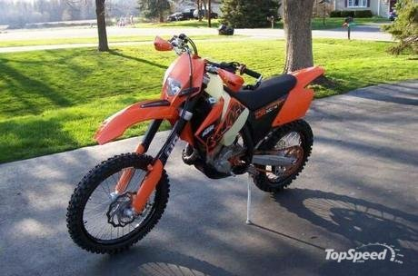2007 KTM 250 XCF-W. The Austrian manufacturer launched the all-new 250 XC-F