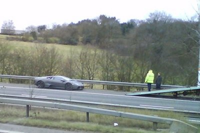 Lamborghini Reventon broke down in the U.K.