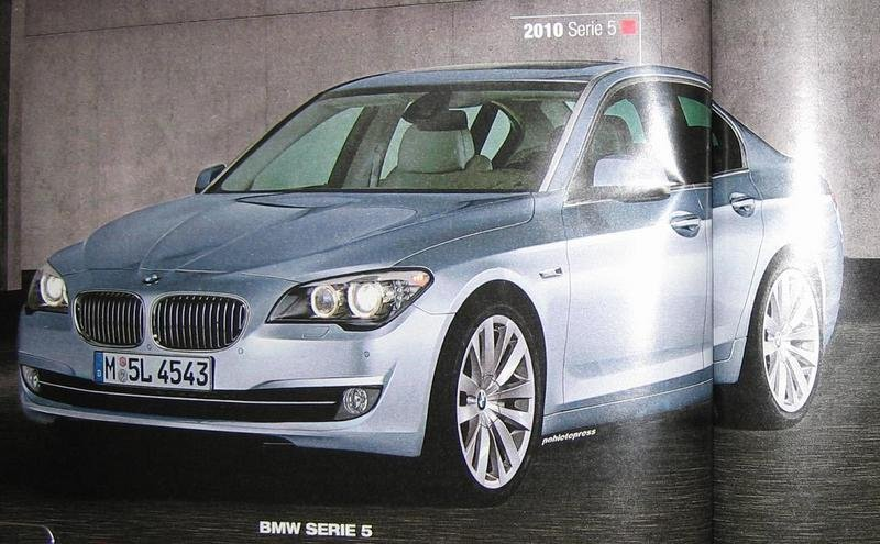 Latest 2011 BMW 5-Series renderings wallpaper image