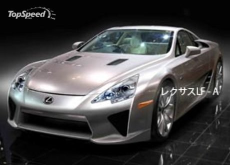 Lexus LF-A will go on sale in 2010: limited to only 500 units