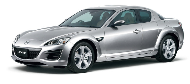 Mazda RX-8 gets new standard features