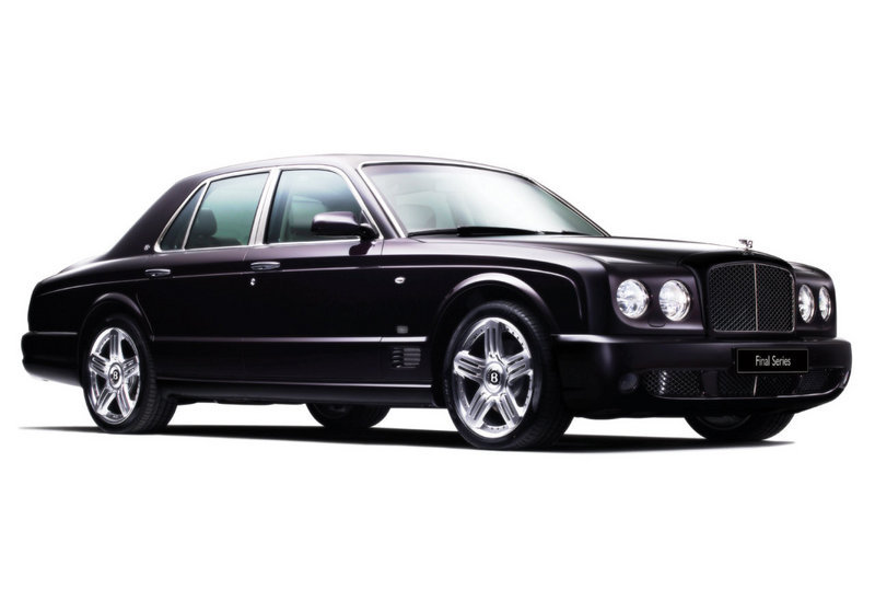 2010 Bentley Arnage to debut at Pebble Beach