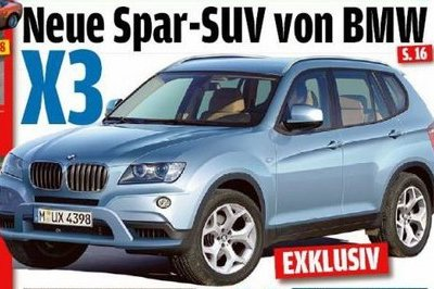 The next generation BMW X3 will be unveiled in December
